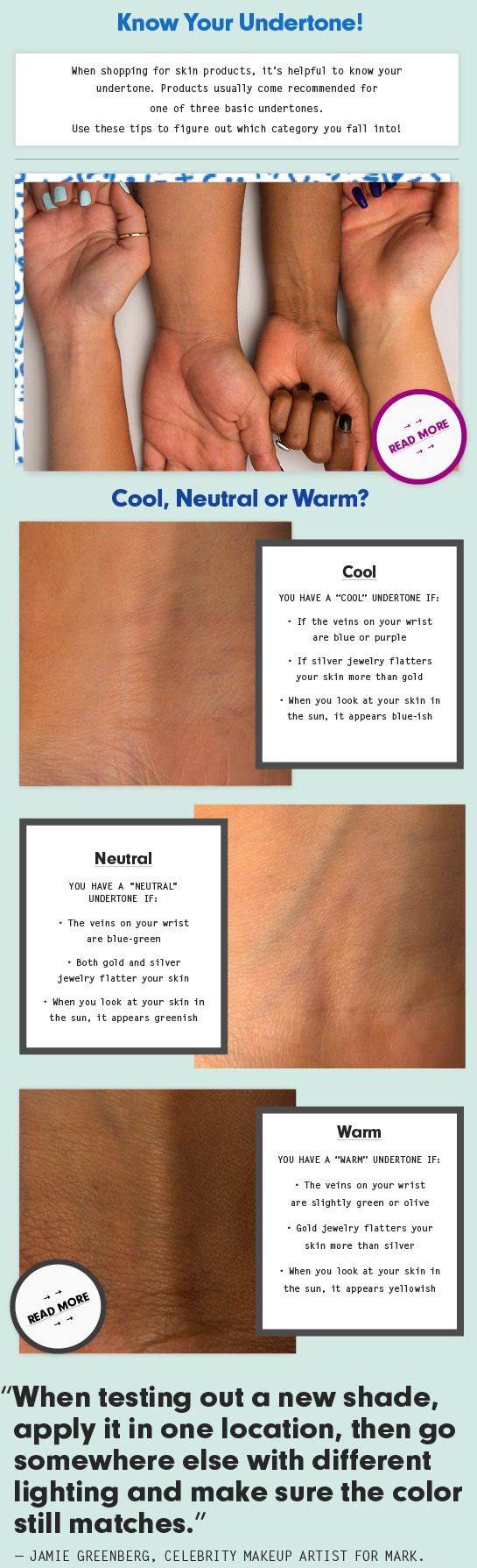How to Find If Youre Warm or Cool Toned and Choose the ...