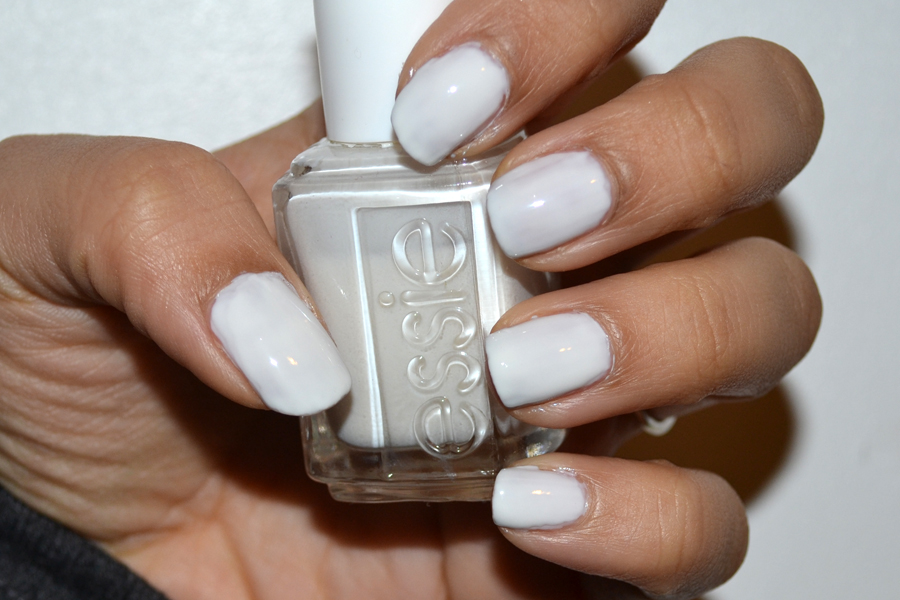 Essie Marshmallow Nail Polish Swatch & Review - Xoxo Emmy